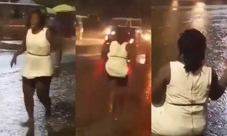 Lady Goes Mad., Ghanaian lady goes mad, mad