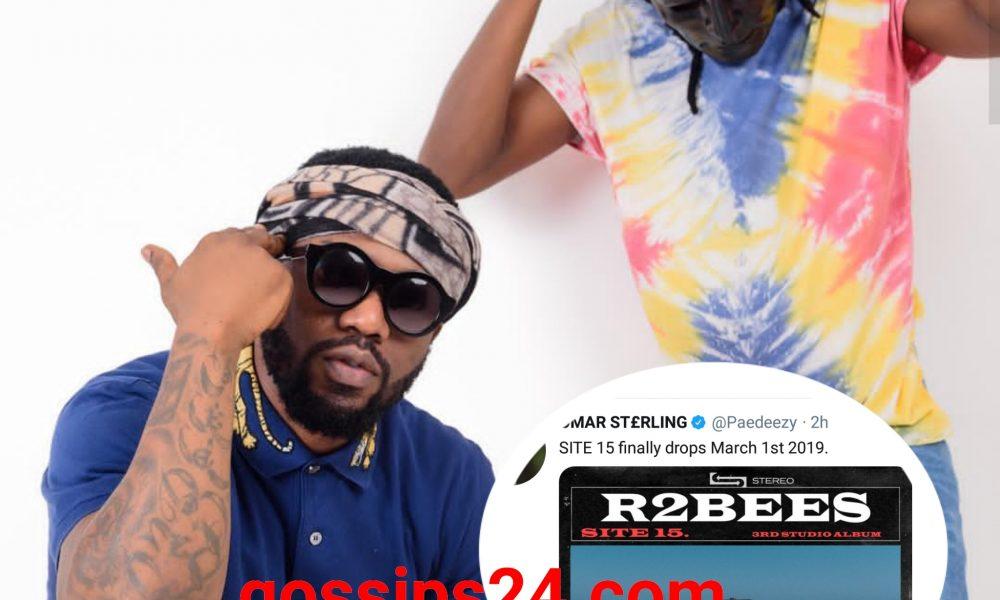 DOWNLOAD: R2Bees - SITE 15(FULL ALBUM) » Gossips24 com