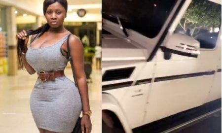 Princess Shyngle gets G-Wagon as Vals Day Gift