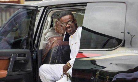 NAM1 Has Arrived In Ghana From Dubai . Nana Appiah Mensah NAM1