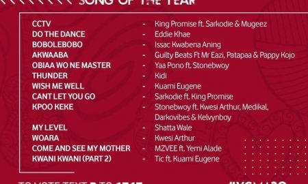 VGMA 2019: Winner Of Vodafone Most Popular Song Of The Year 11
