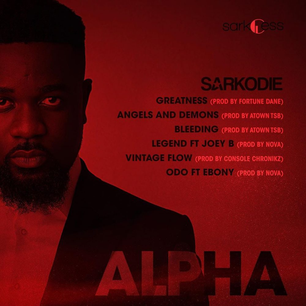 Sarkodie drops first cut of his alpha ep gossips24 com