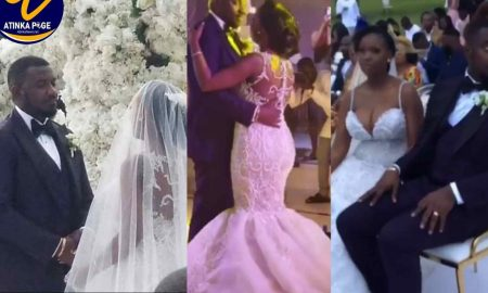 (VIDEO) John Dumelo Ties The Knot In A Plush White Wedding Ceremony 1