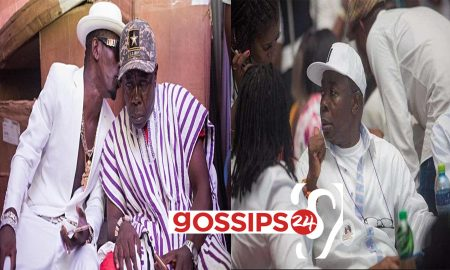 """""""You Are My Role Model"""" - Shatta Wale tells Dad, Shatta Wale's Father, Shatta Capo Says Medikal Is The Best Rapper In Ghana (Video)"""