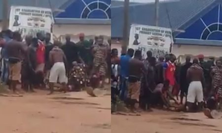 Ghanaian Chief Caught On Camera Allegedly Sacrificing Humans To His Village gods