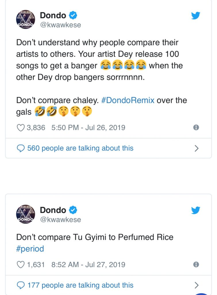 """""""Shatta Wale Releases 100 Songs Just to Get One Hit, Don't Compare him to Me"""" – Kwaw Kese Slams SM Fans 4"""