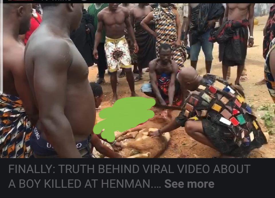 Chief Was Sacrificing Humans