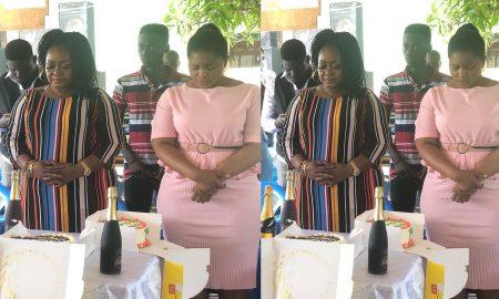 Christiana Awuni, photos of Christiana Awuni's Daughter