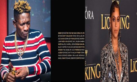 Beyonce Features Shatta Wale On Her New Album