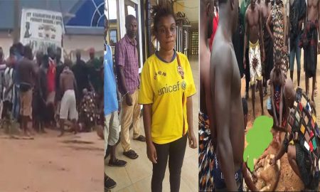 Police Arrest Lady Who Claimed A Chief Was Sacrificing Humans To His Village Gods