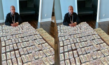 Floyd Mayweather Displays Huge Amount Of Cash To Silence His Critics