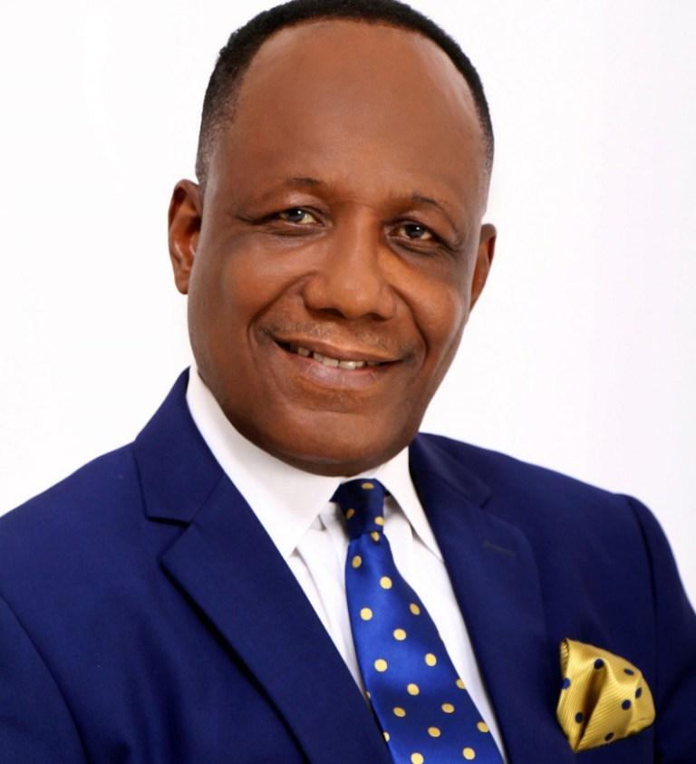 President of the Full Gospel Church International, Bishop Samuel N Mensah