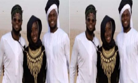 The Lady Thomas Partey & Nuhu Allegedly Smuggled