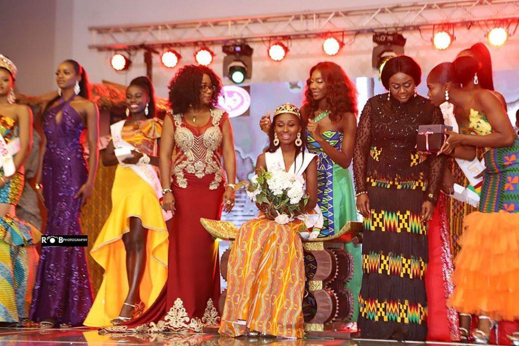 Miss Ghana 2019: Rebecca Nana Adjowa Crowned Winner
