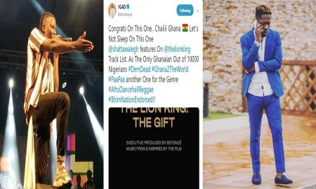Stonebwoy Speaks On Beyonce And Shatta Wale Collaboration