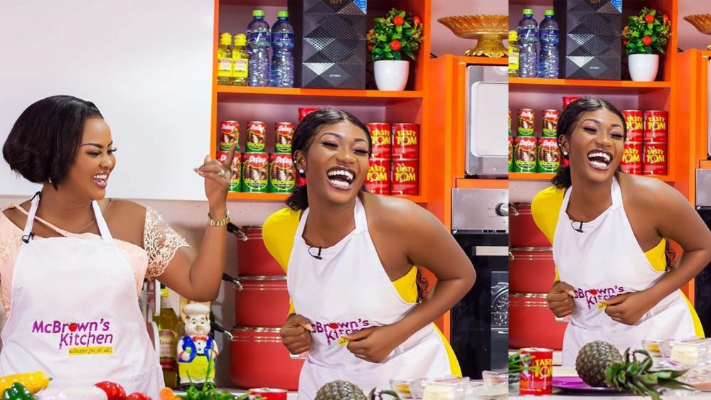 You Are Physically Beautiful Than Your Pictures Nana Ama Mcbrown To Wendy Shay Video