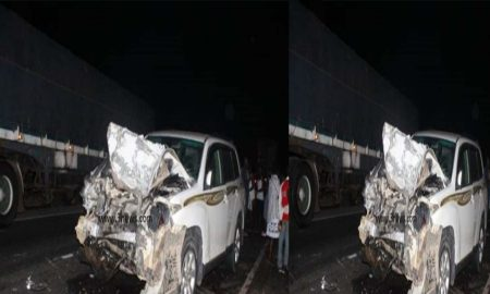 Accident at Nsawam