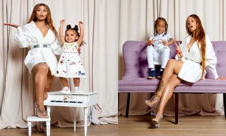 Blac Chyna & Her Adorable Kids Pop Up Online