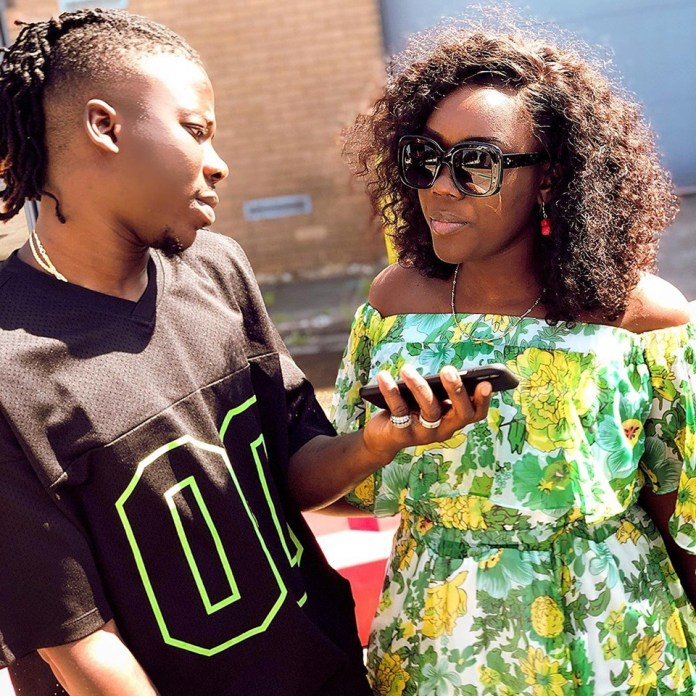Stonebwoy and Dr Louisa