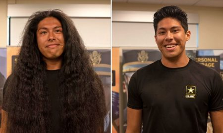 Guy Shaves off 15-year-old Hair just to... 17