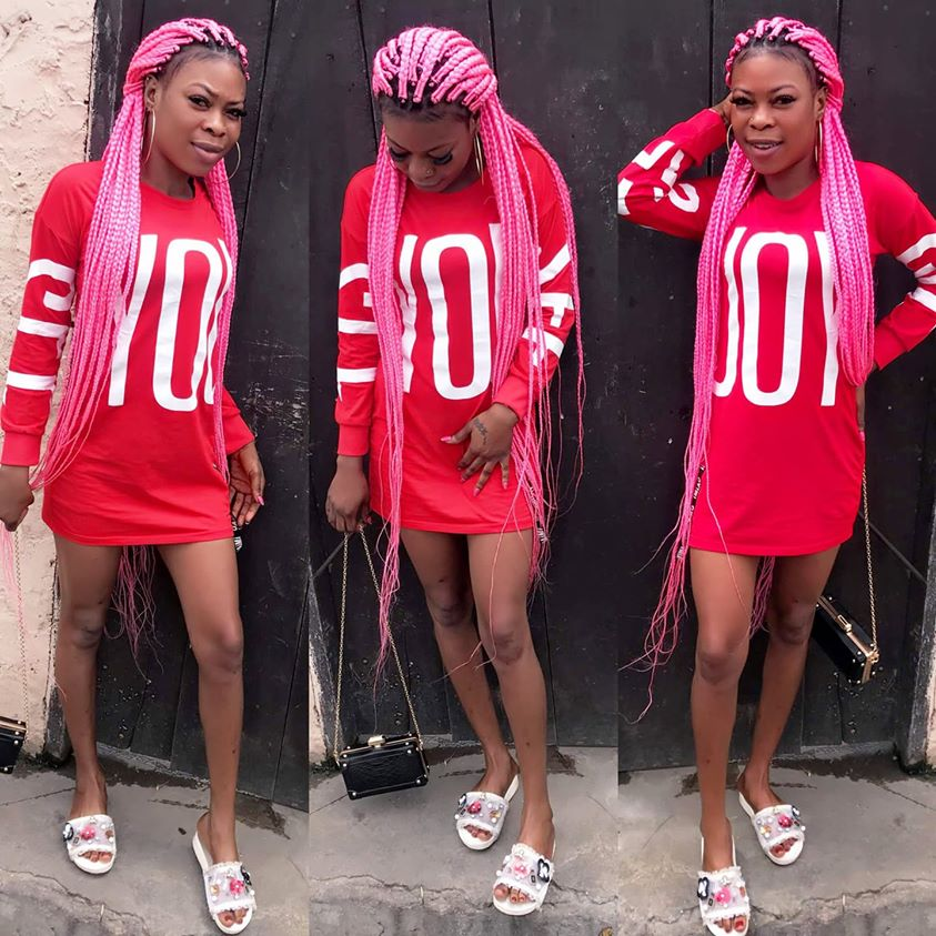 Photos Of Akosua Barbie, The Slay Queen Who Died For Snatching Someone's Husband 6