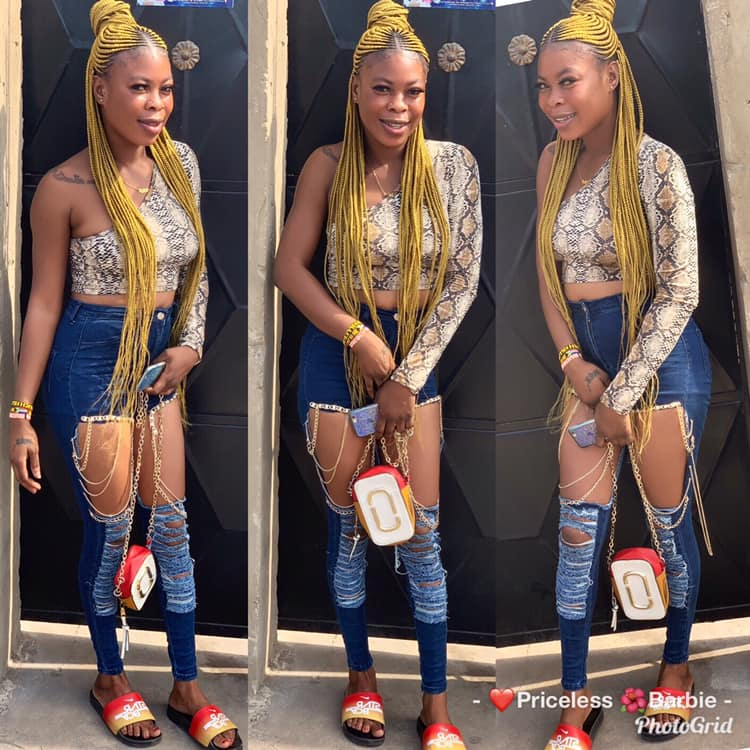 Photos Of Akosua Barbie, The Slay Queen Who Died For Snatching Someone's Husband 2
