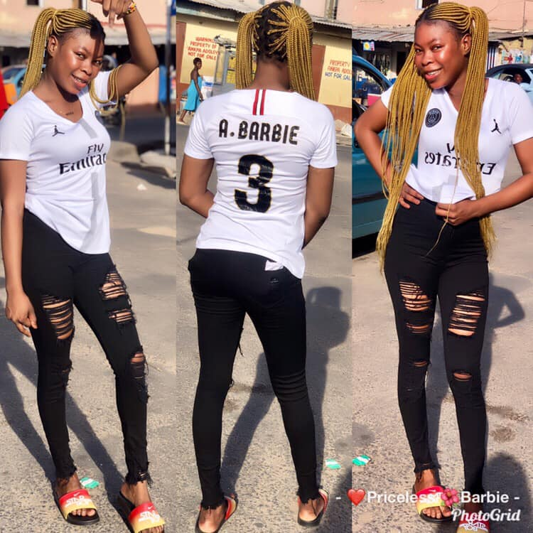 Photos Of Akosua Barbie, The Slay Queen Who Died For Snatching Someone's Husband 5