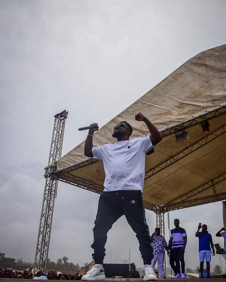 Sarkodie Gives Saltpond The Best Of His Best Performances