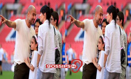 Pep Guardiola's wife leaves Manchester