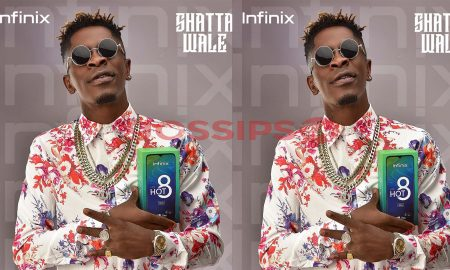 Shatta Wale and Infinix