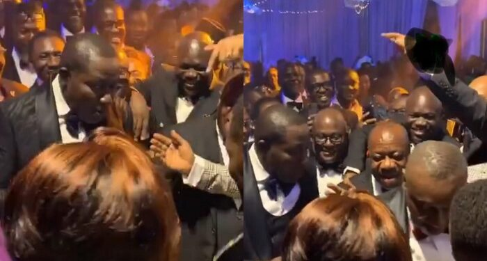 KENCY2020: Kwame Despite and Brother Dr. Ofori Sarpong Show Off Their Dance Skills At Their Son, Kennedy's Wedding Reception (VIDEO) 1