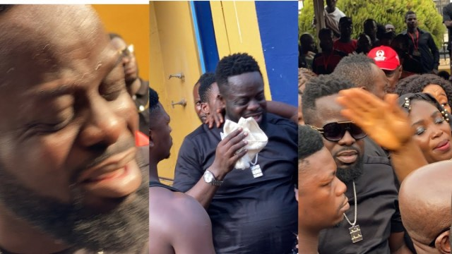 'I'm not Responsible for the death of my brother' – Ofori Amponsah sheds tears at Kofi B's one-week celebration (VIDEO) 1