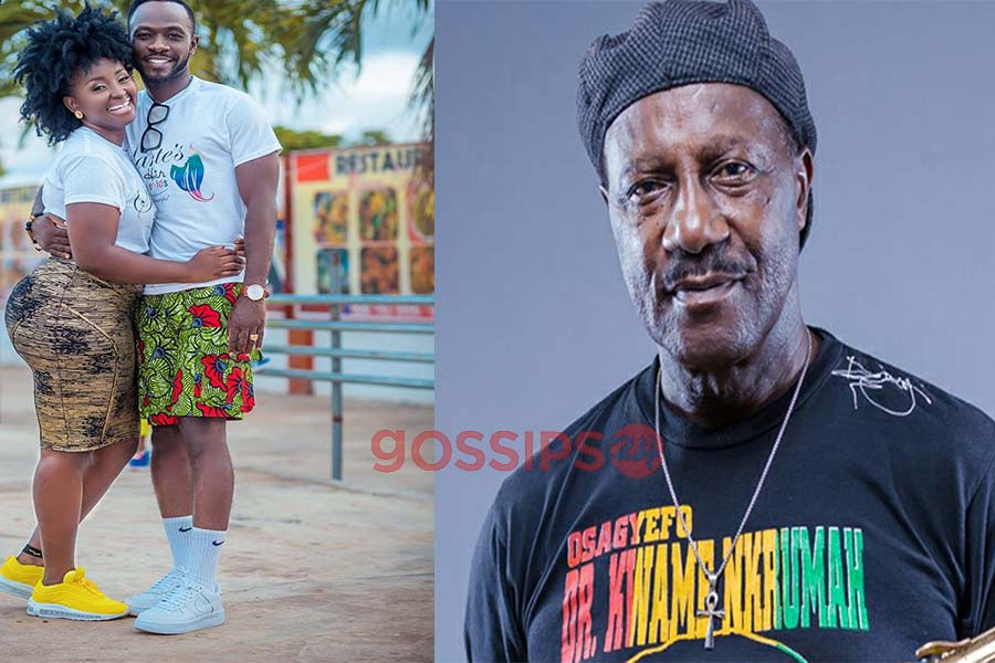 Okyeame Kwame and Gyedu Blay Ambolley