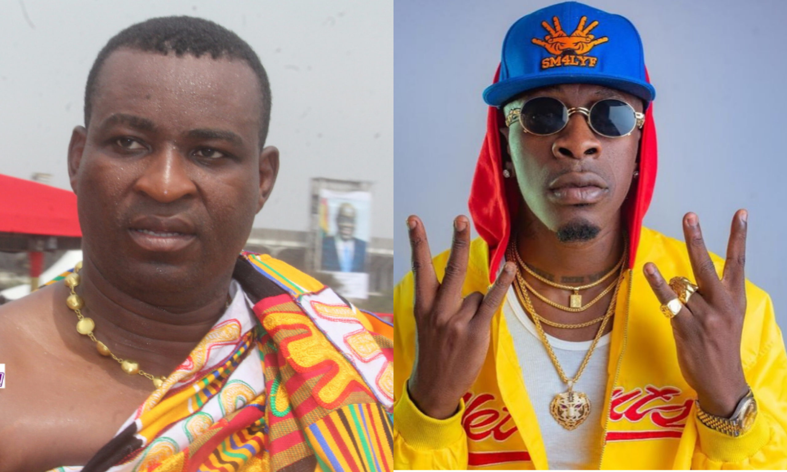 Shatta Wale features Chairman Wontumi on a new song titled 'Zion' 1