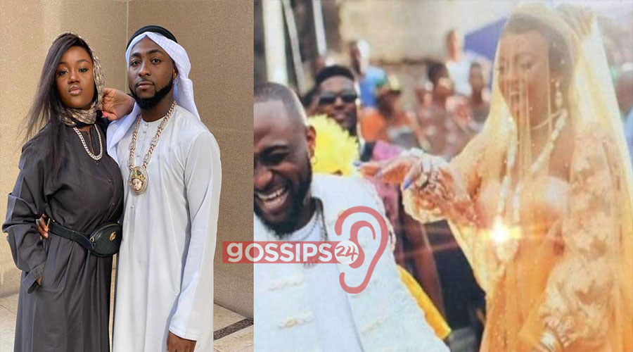 Photos from Davido and Chioma traditional marriage pops up on social media 1