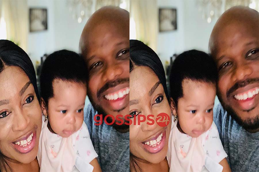 Sinach shares adorable photo of her family, Sinach