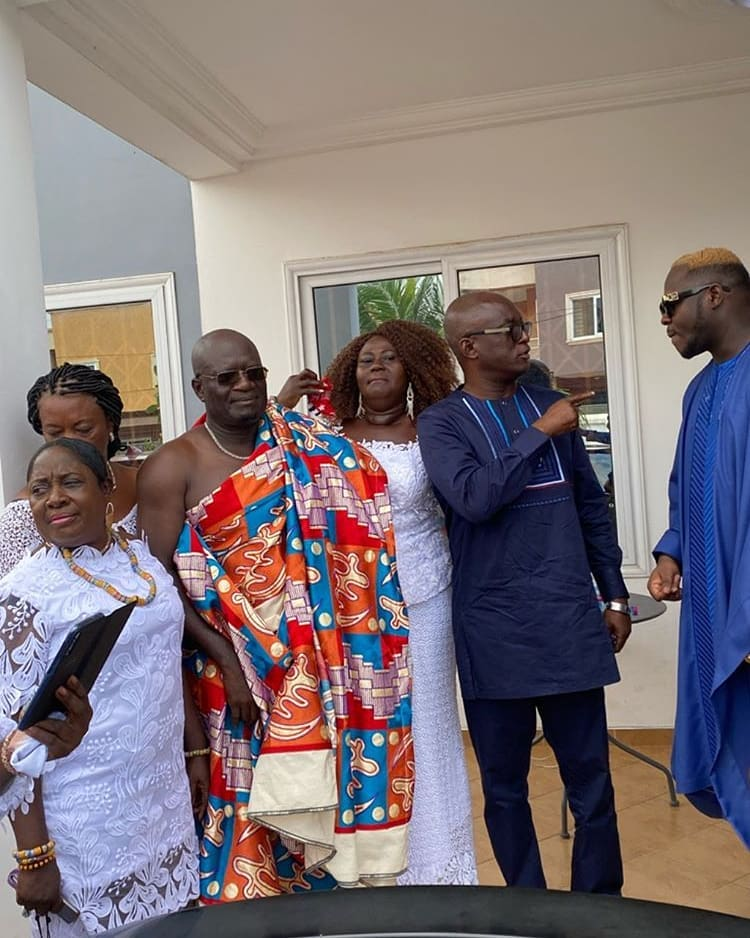 Watch Live: Medikal and Fella Makafui wedding