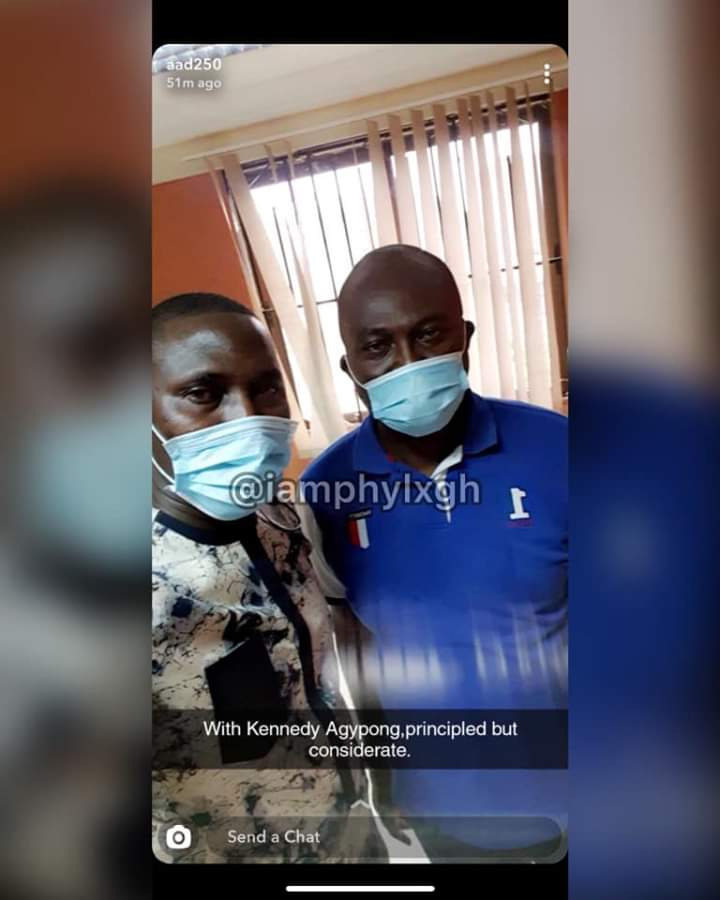See first photo of when Ibrah One's brother, Abass stormed Kennedy Agyapong's house to beg him