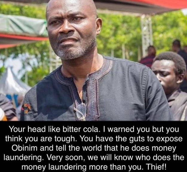 Ibrah One threatens to expose Kennedy Agyapong