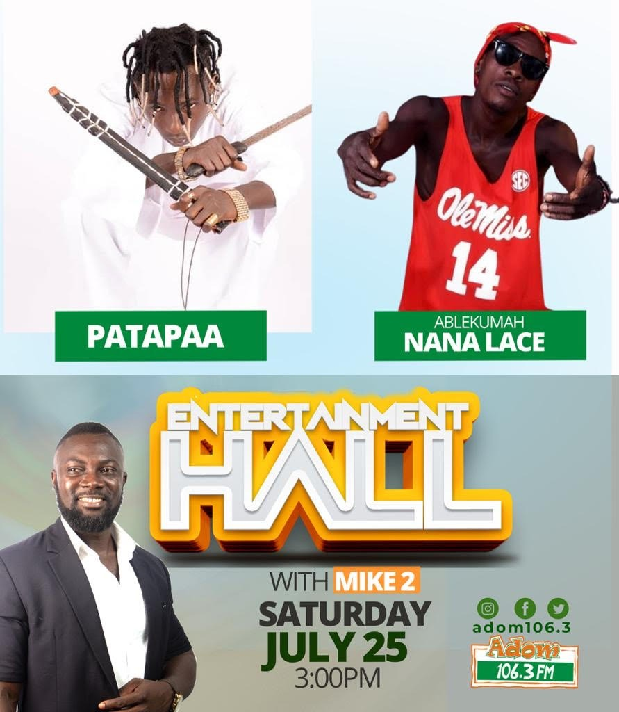 Patapaa snubs interview because of Ablekuma Nana Lace