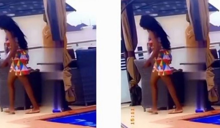 Lady slaps her boyfriend for going on a date with her bestie at a hotel