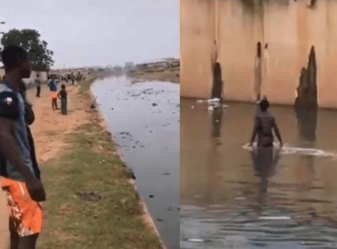 Man jumps into dirty Odaw River after stealing handbag at Circle