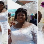 Beautiful bride dies a day after her wedding