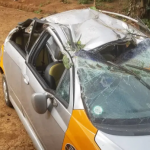 Four EC officials involved in terrible accident