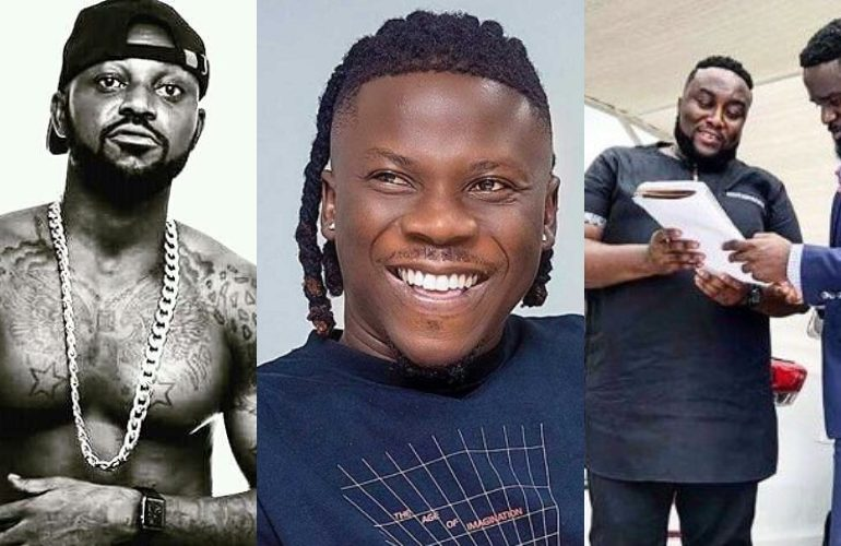 Yaa Pono unfollows Stonebwoy for assaulting Sarkodie's manager, Angel Town