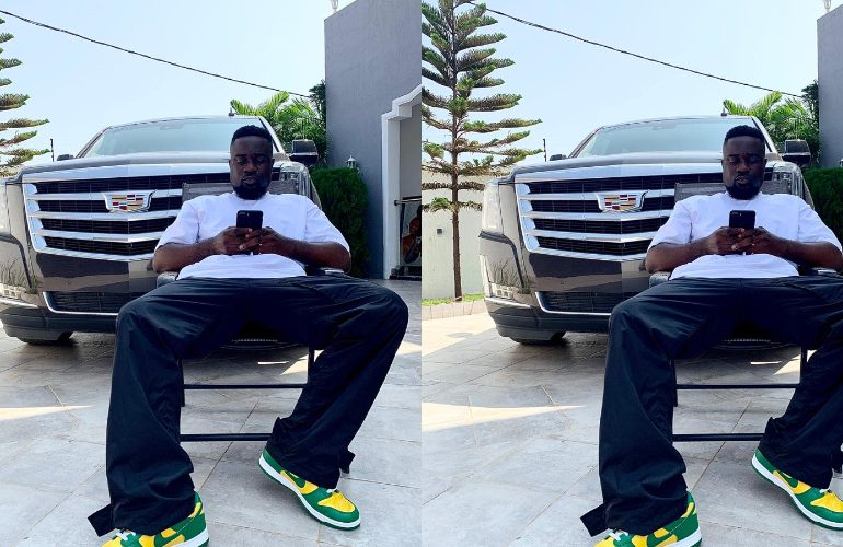 Sarkodie shows off brand new Escalade after Black Love concert