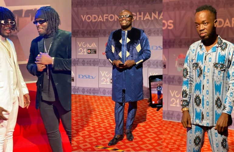 See First Photos From 2020 Vgma Red Carpet