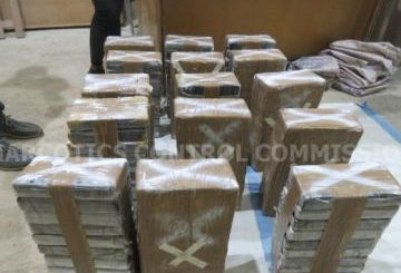 152 kgs of cocaine busted at Tema Port