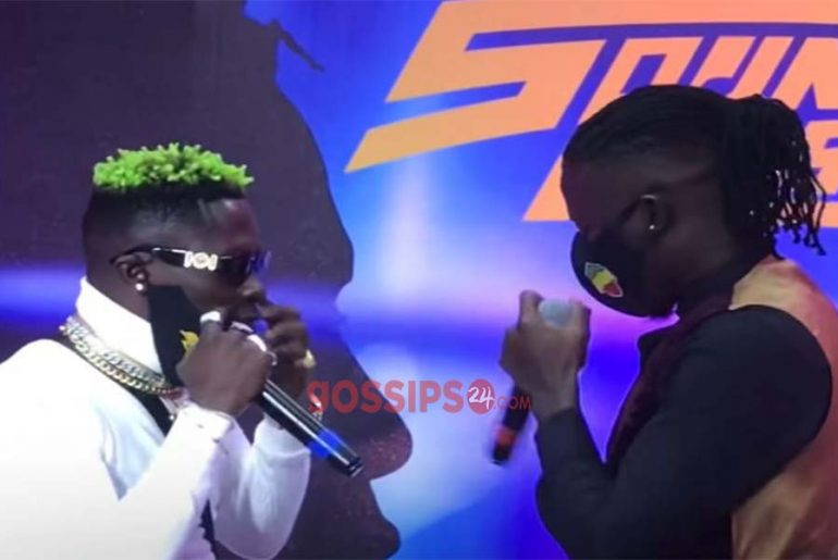 WATCH Stonebwoy and Shatta Wale Asaase SoundClash Live