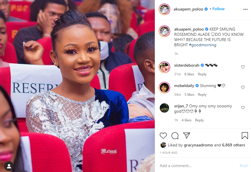Akuapem Poloo reacts after her atopa tape leaked